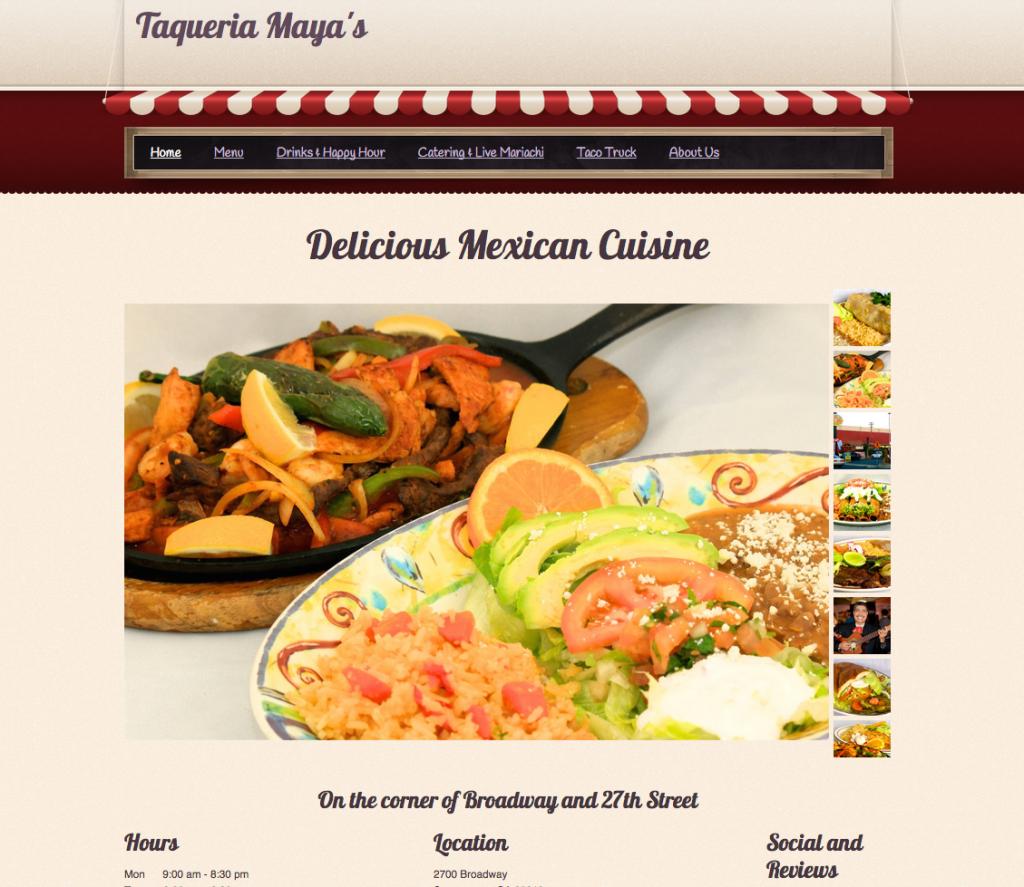 Taqueria Maya's - Mexican Grill & Restaurant - TaqueriaMayas.com